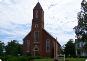 St. Martin Catholic Church in Chrisney, Indiana